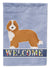 Doxiepoo #2 Welcome Flag Garden Size CK3733GF by Caroline's Treasures