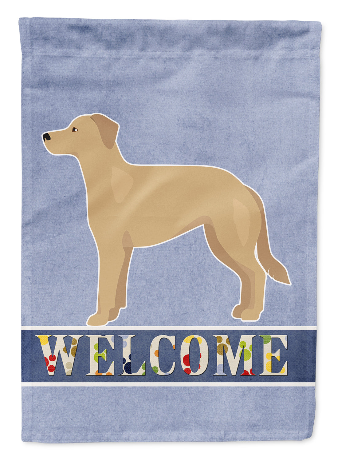 German Sheprador #1 Welcome Flag Canvas House Size CK3740CHF by Caroline's Treasures