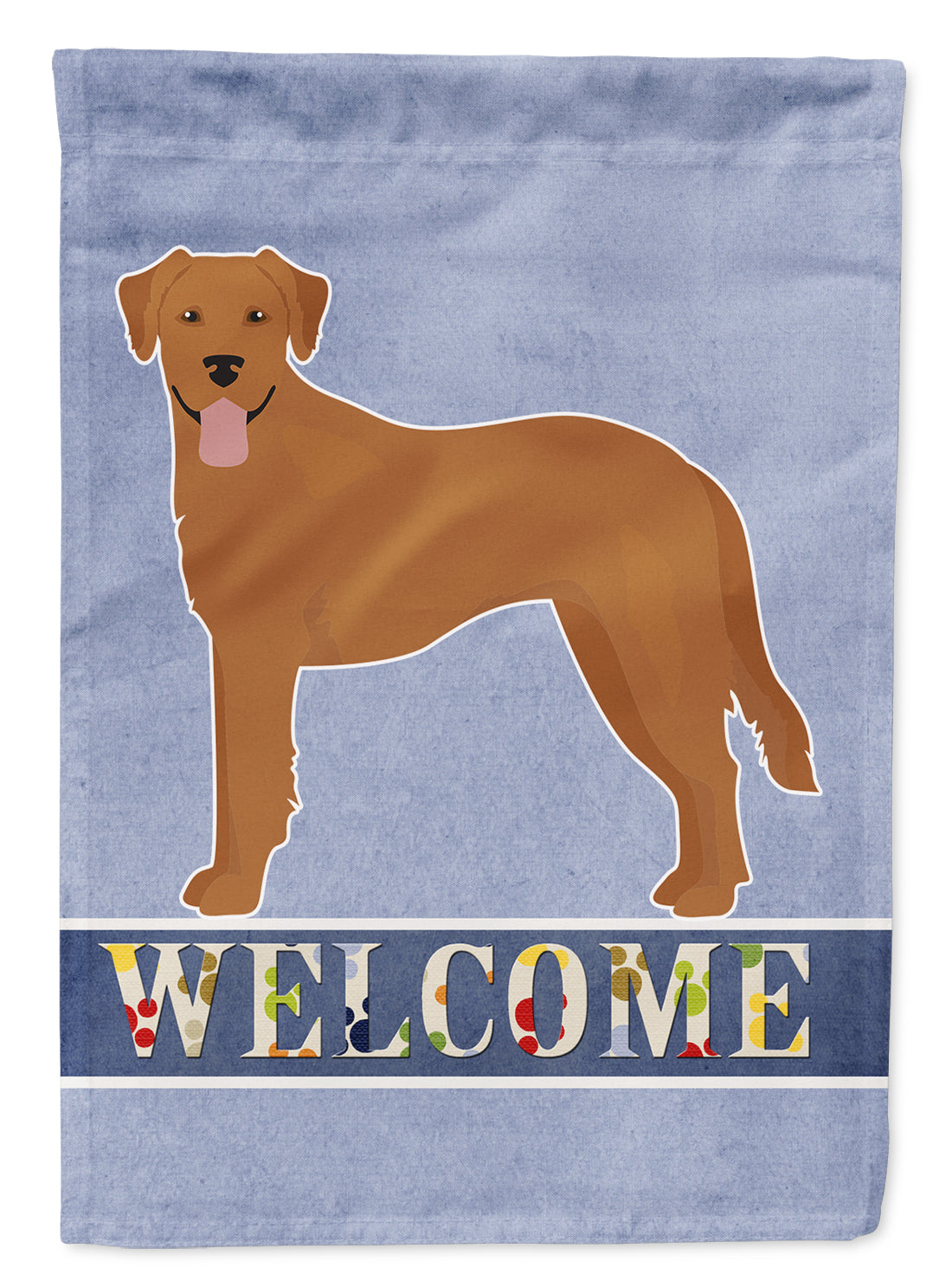 Buy this Goldador Welcome Flag Canvas House Size CK3742CHF