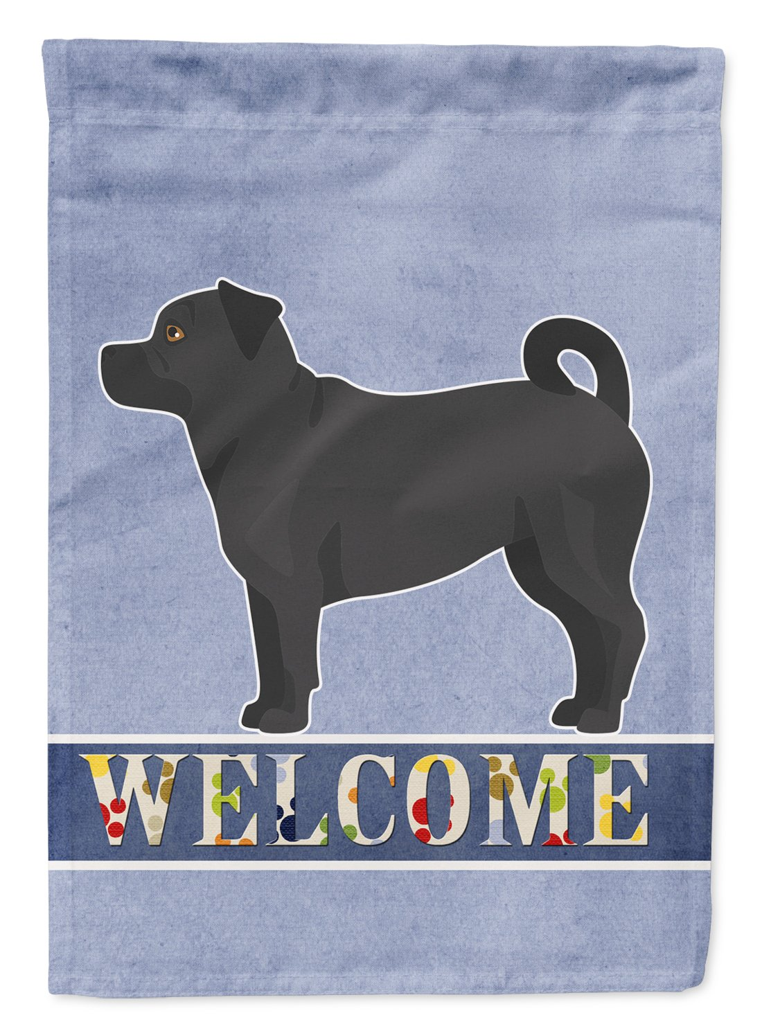 Balck Jug Welcome Flag Garden Size CK3750GF by Caroline's Treasures