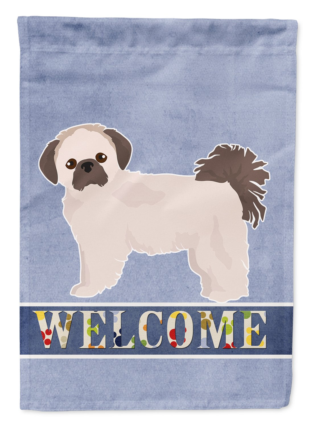 Pekeapoo Welcome Flag Garden Size CK3763GF by Caroline's Treasures