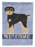 Buy this Schnoodle Welcome Flag Garden Size CK3772GF