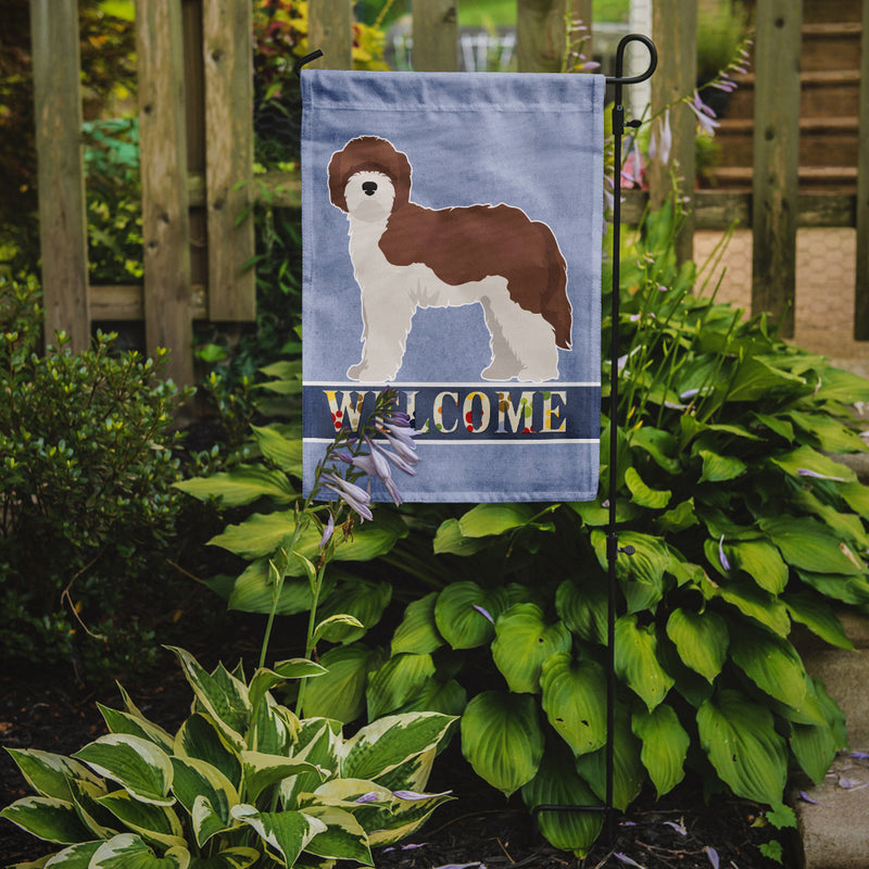 Buy this Sheepadoodle Welcome Flag Garden Size CK3773GF