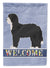 Buy this Black Sheepadoodle Welcome Flag Garden Size CK3774GF