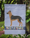 Shepherd Pit Mix #1 Welcome Flag Garden Size CK3775GF