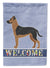 Buy this Shepherd Pit Mix #1 Welcome Flag Garden Size CK3775GF