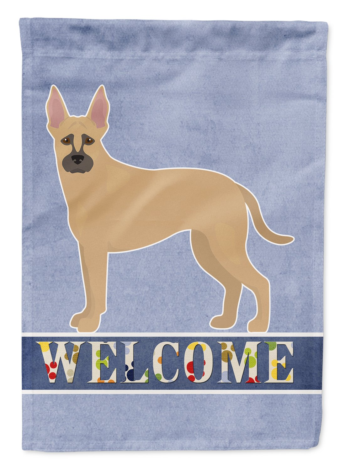 Buy this Shepherd Pit Mix #2 Welcome Flag Garden Size CK3776GF