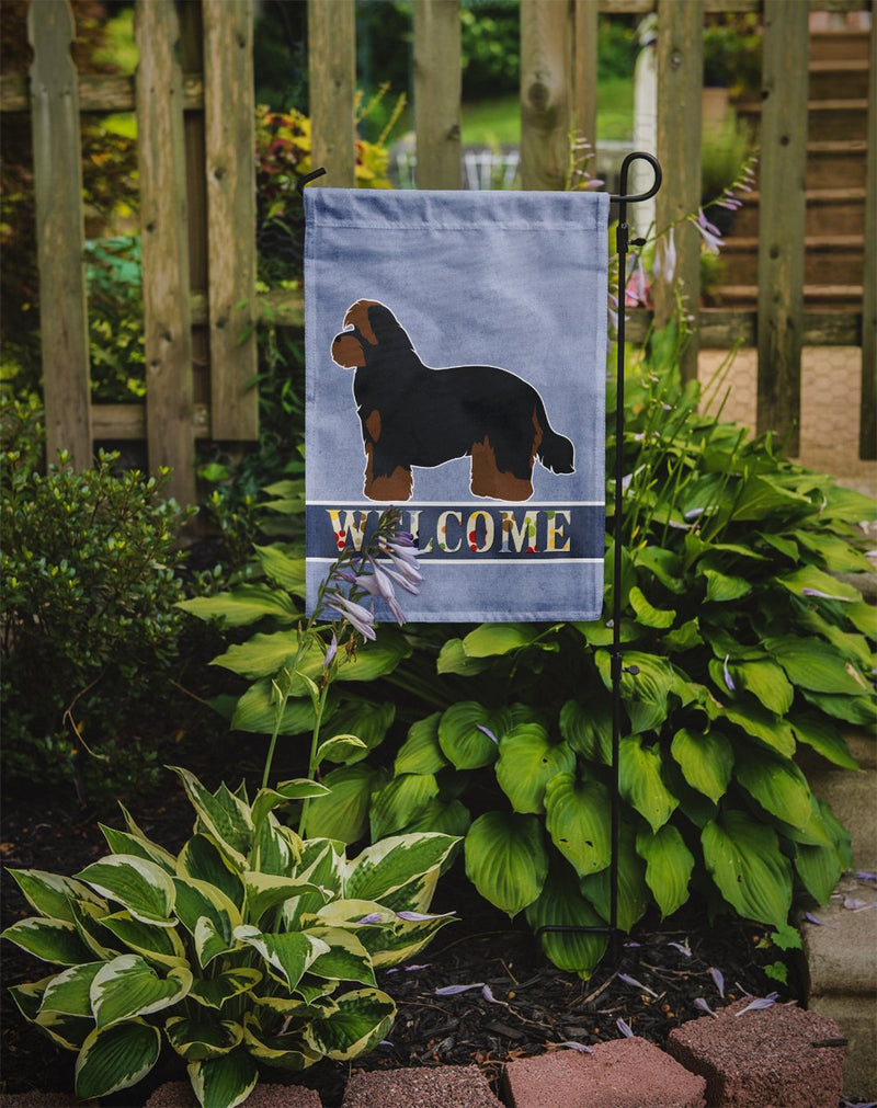 Buy this Shorkie #1 Welcome Flag Garden Size CK3781GF