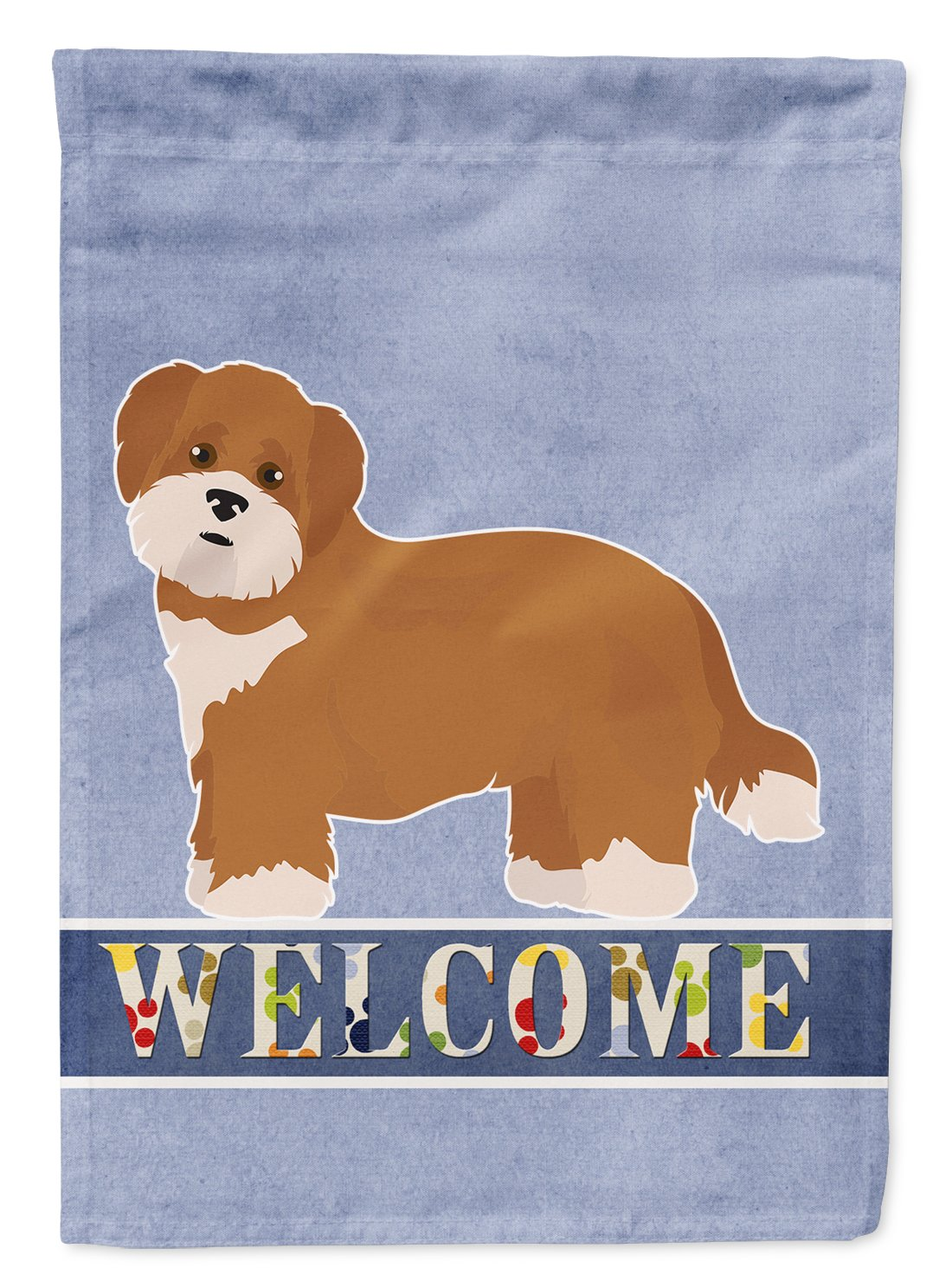 Buy this Shorkie #2 Welcome Flag Garden Size CK3782GF