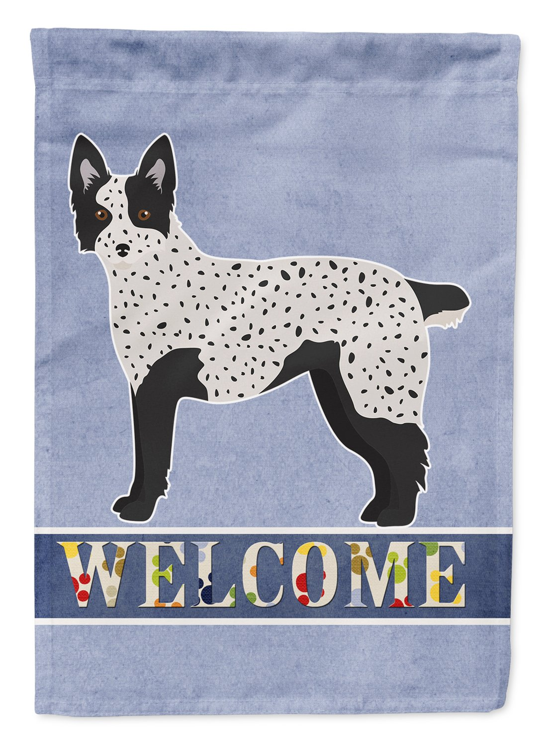 Buy this Texas Heeler Welcome Flag Garden Size CK3783GF