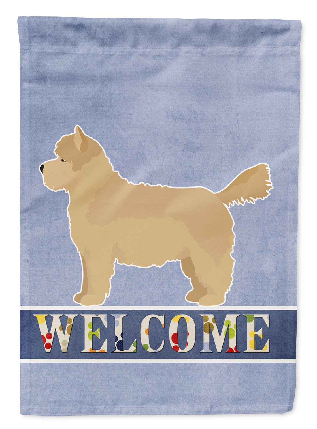 Buy this Westiepoo #1 Welcome Flag Garden Size CK3784GF