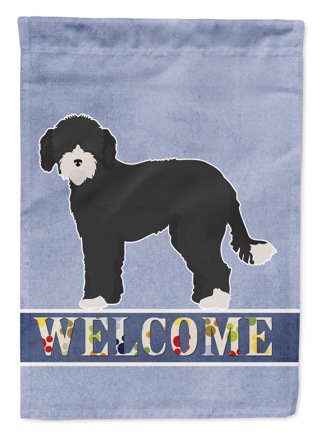 Buy this Whoodle #2 Welcome Flag Garden Size CK3787GF