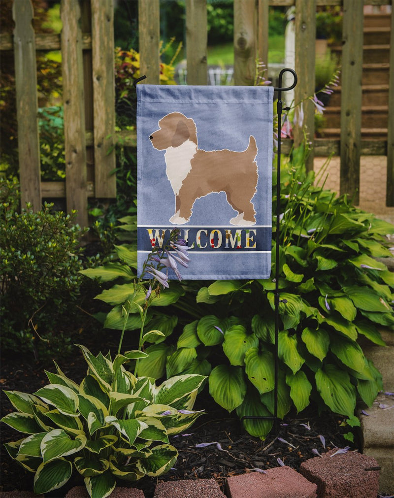 Buy this Yorkiepoo #2 Welcome Flag Garden Size CK3789GF