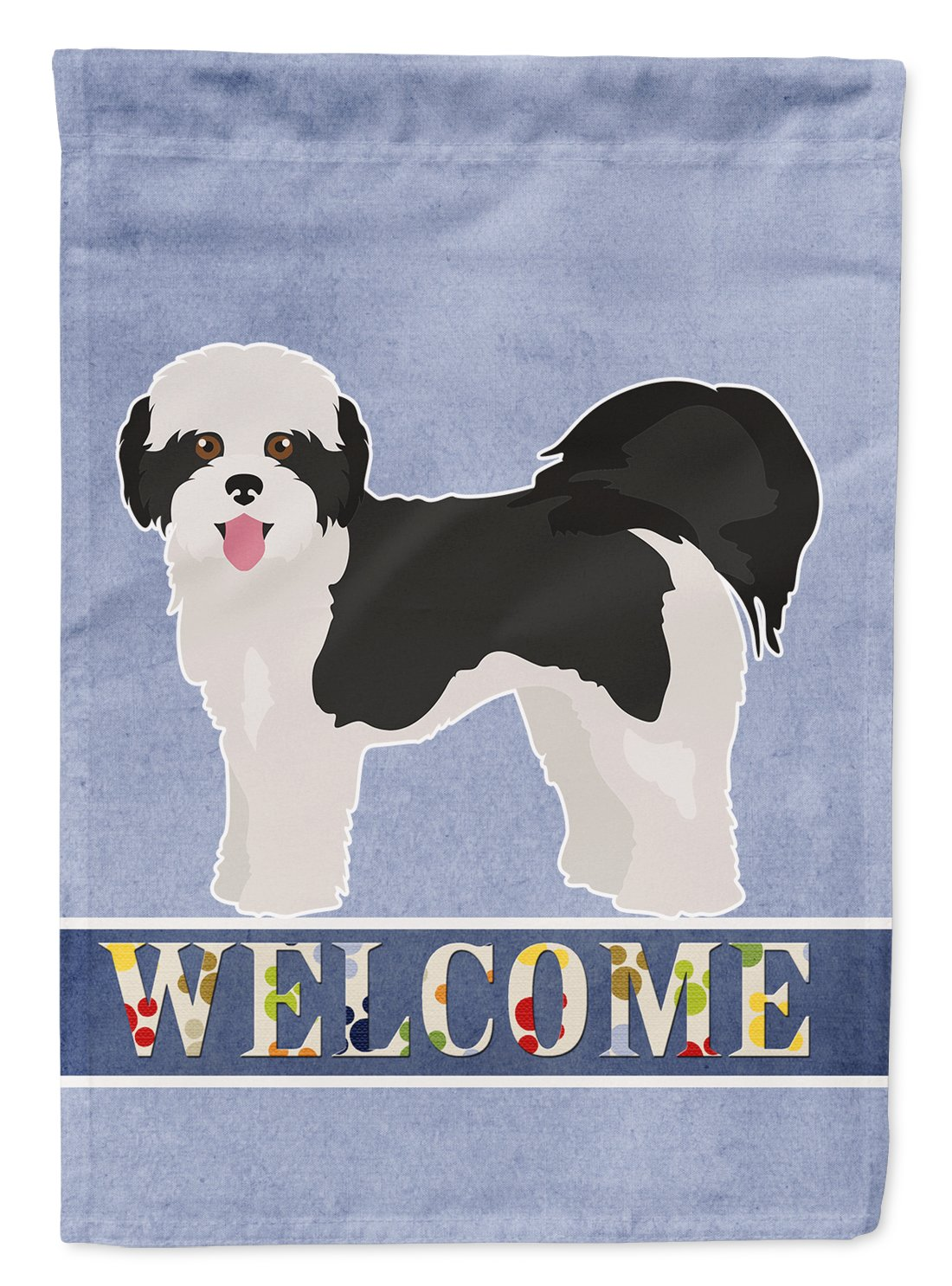 Buy this Zuchon #2 Welcome Flag Garden Size CK3791GF