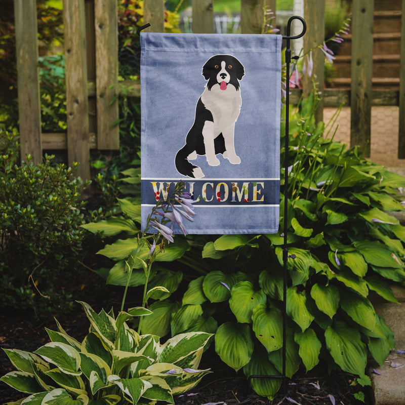 Buy this Borador Welcome Flag Garden Size CK3793GF