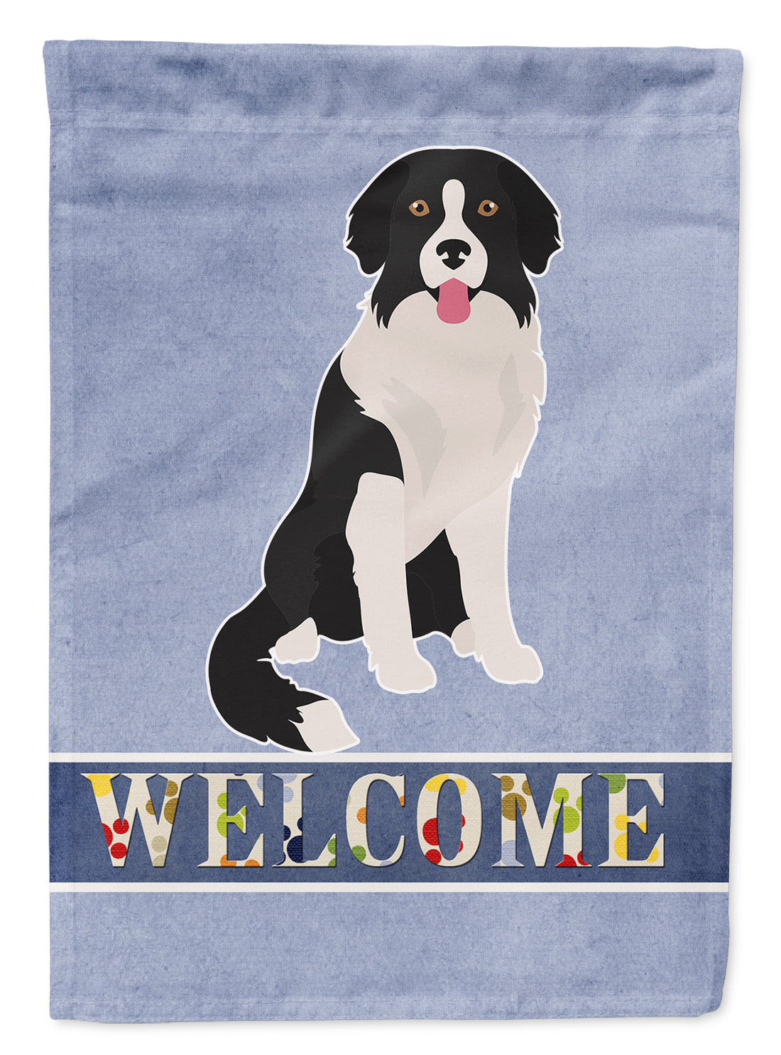 Borador Welcome Flag Garden Size CK3793GF by Caroline's Treasures