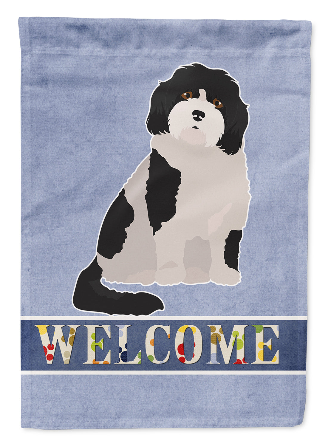 Buy this Cavachon #3 Welcome Flag Garden Size CK3794GF