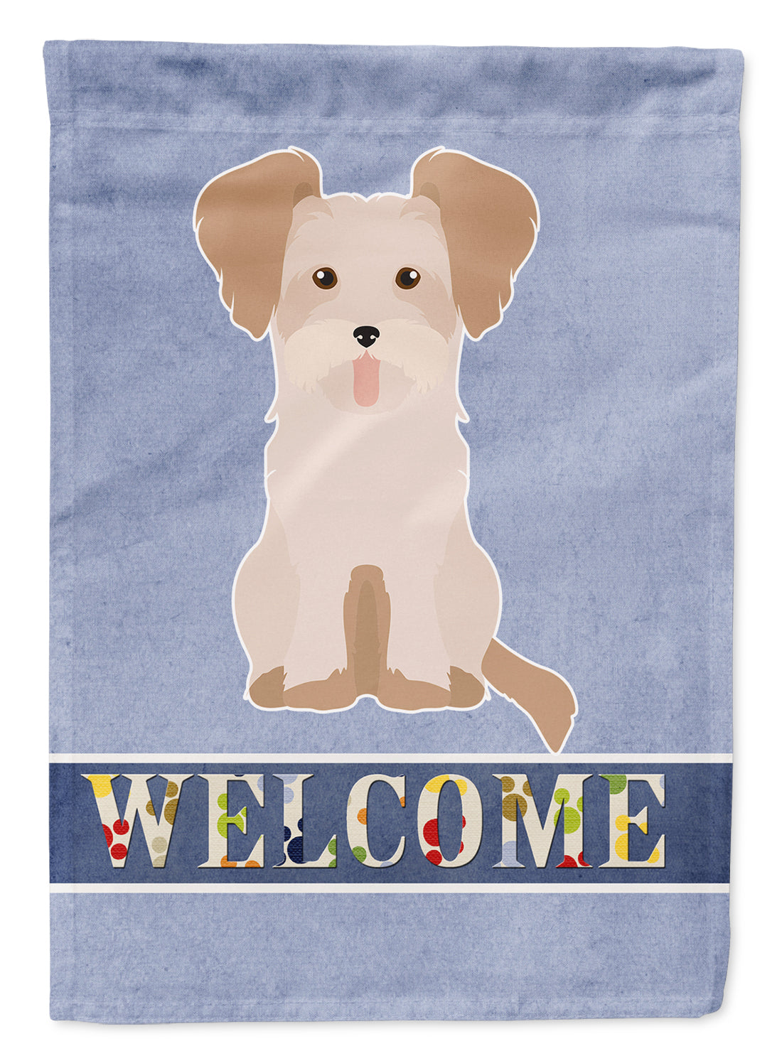 Buy this Morkie #3 Welcome Flag Garden Size CK3795GF