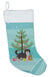 Aussiedoodle #1 Christmas Tree Christmas Stocking CK3800CS by Caroline's Treasures