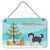 Buy this Aussiedoodle #1 Christmas Tree Wall or Door Hanging Prints CK3800DS812