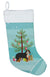Bernedoodle Christmas Tree Christmas Stocking CK3804CS by Caroline's Treasures