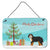 Buy this Bernedoodle Christmas Tree Wall or Door Hanging Prints CK3804DS812