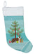 Borador Christmas Tree Christmas Stocking CK3807CS by Caroline's Treasures