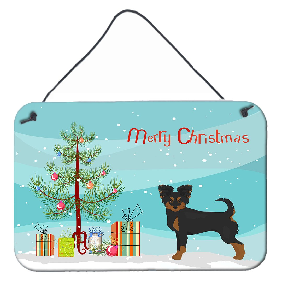 Buy this Black and Tan Chion Christmas Tree Wall or Door Hanging Prints CK3813DS812