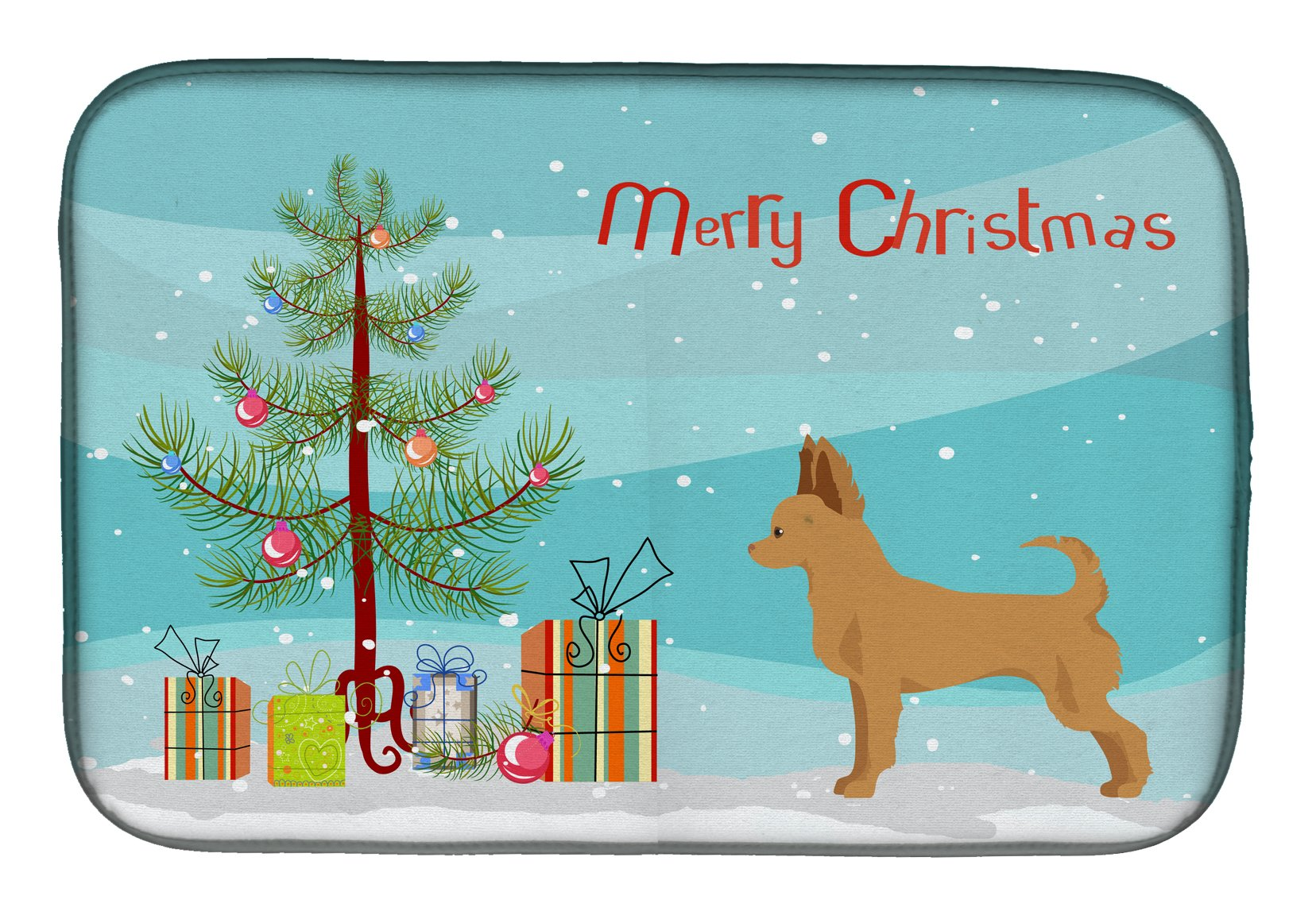 Buy this Tan Chion Christmas Tree Dish Drying Mat CK3814DDM