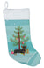 Black and Tan Chiweenie Christmas Tree Christmas Stocking CK3816CS by Caroline's Treasures
