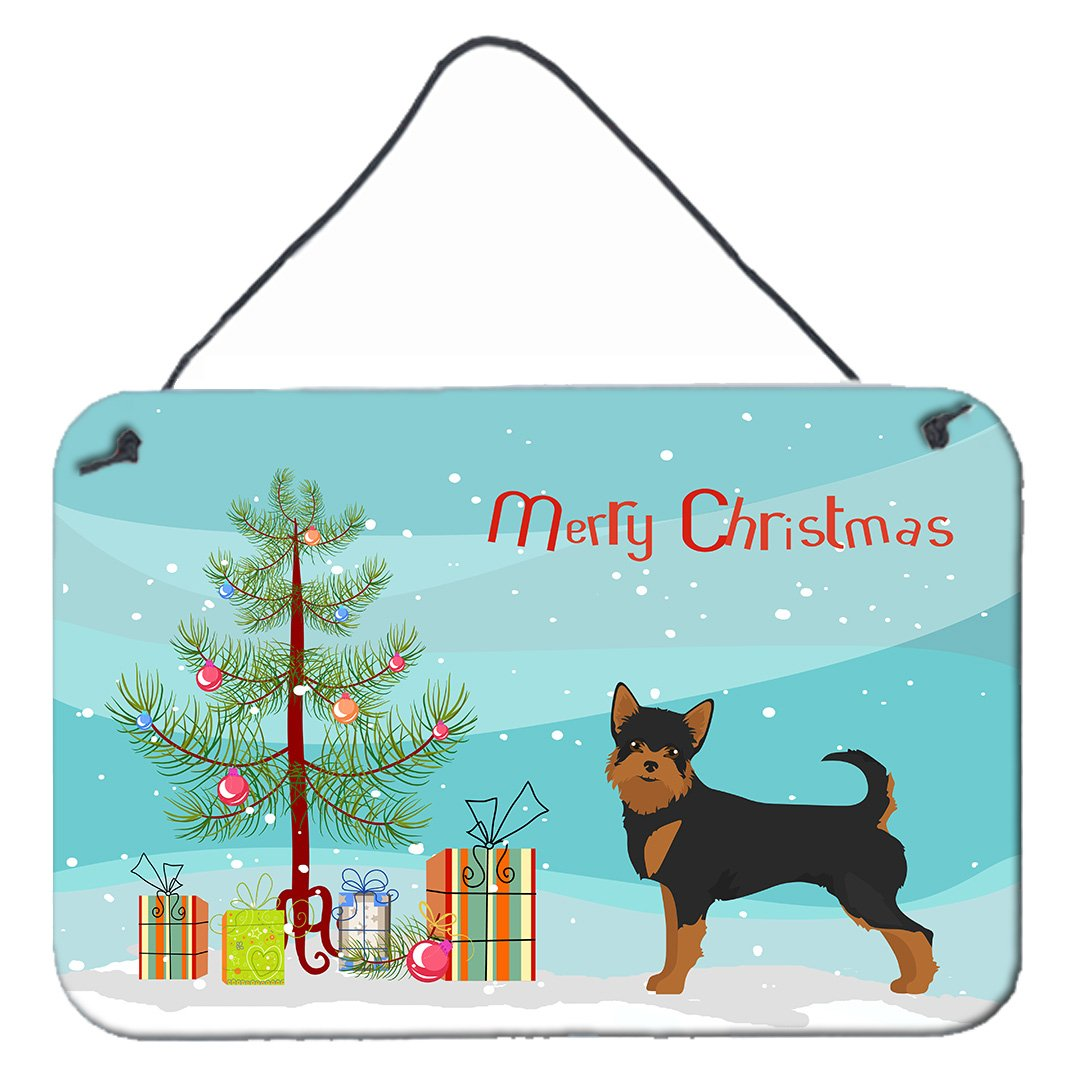 Buy this Black and Tan Chorkie Christmas Tree Wall or Door Hanging Prints CK3817DS812
