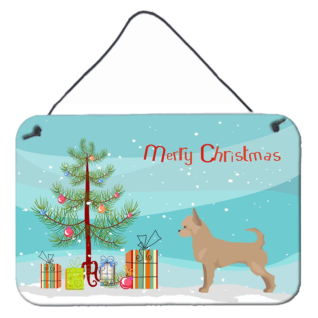 Buy this Tan Chorkie Christmas Tree Wall or Door Hanging Prints CK3818DS812