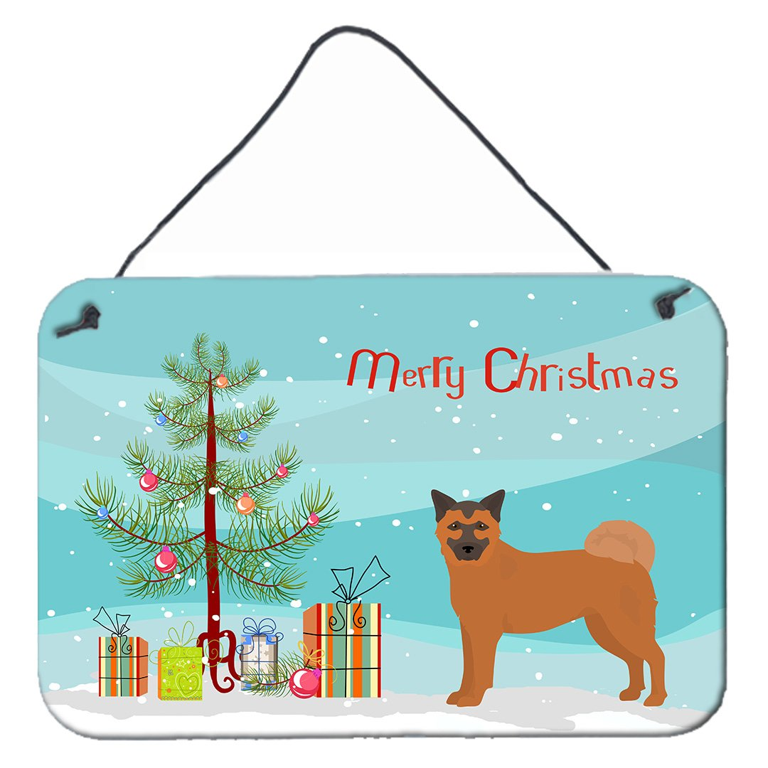 Buy this Chow Shepherd Christmas Tree Wall or Door Hanging Prints CK3819DS812
