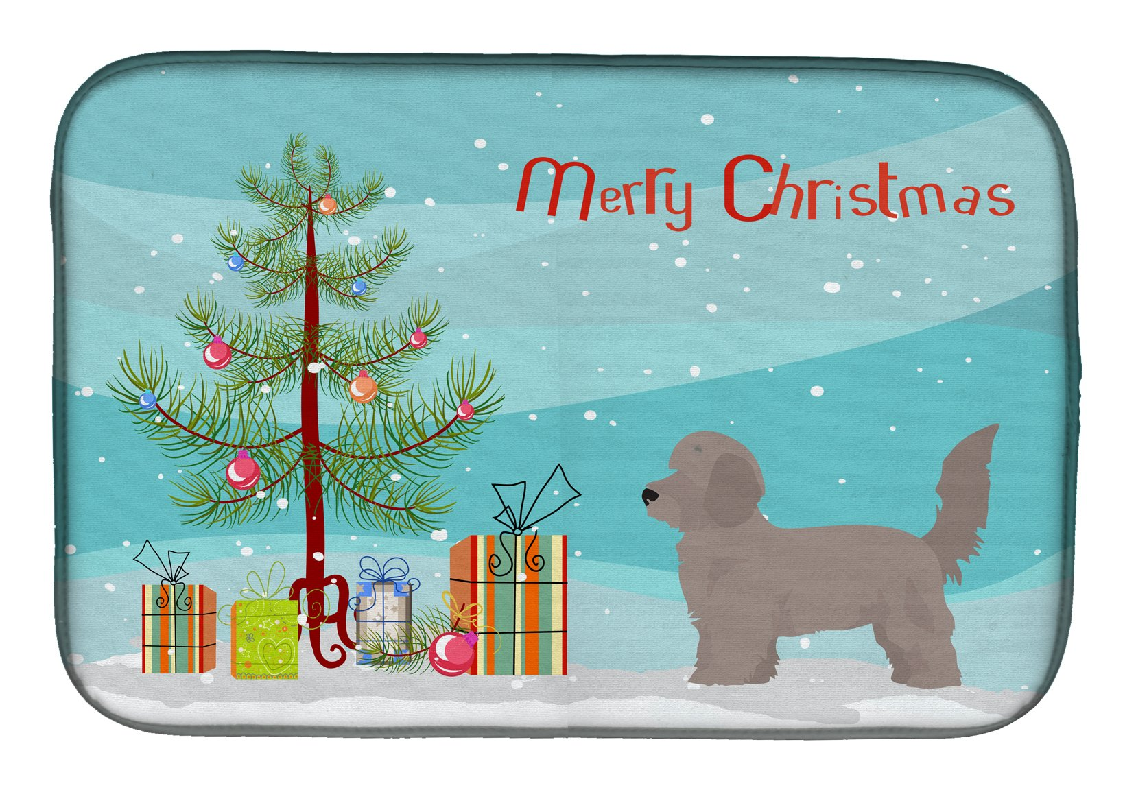 Buy this Doxiepoo Christmas Tree Dish Drying Mat CK3826DDM