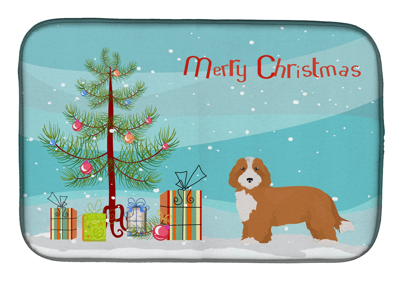 Buy this Doxiepoo #2 Christmas Tree Dish Drying Mat CK3827DDM