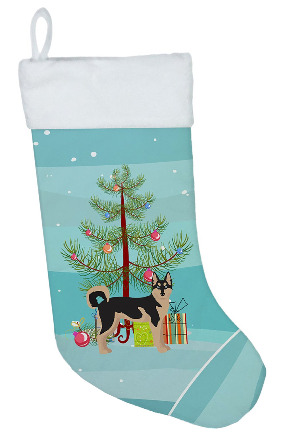 Gerberian Shepsky #2 Christmas Tree Christmas Stocking CK3831CS by Caroline's Treasures