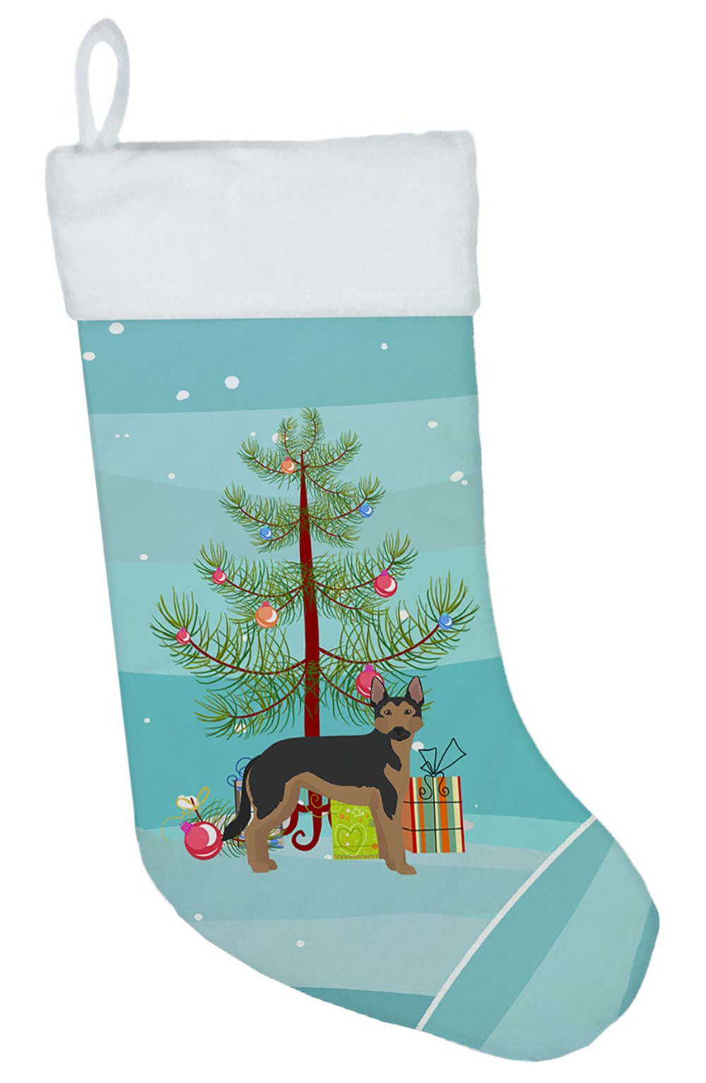 German Sheprador #2 Christmas Tree Christmas Stocking CK3835CS by Caroline's Treasures