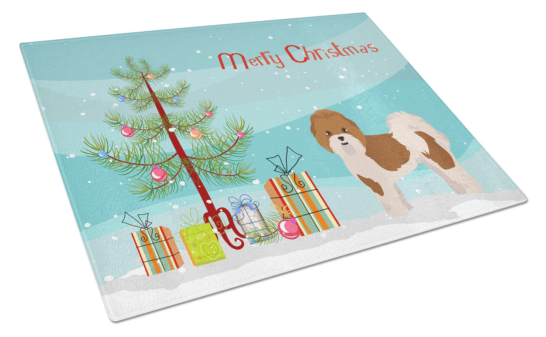 Buy this Mal-Shi Christmas Tree Glass Cutting Board Large CK3853LCB
