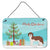 Buy this Sheepadoodle Christmas Tree Wall or Door Hanging Prints CK3867DS812