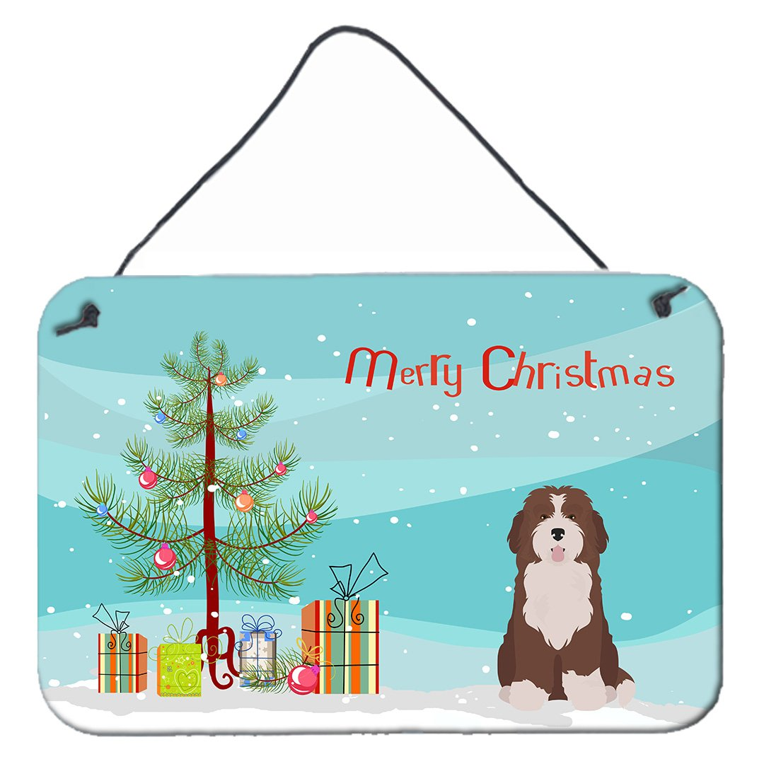 Buy this Bernedoodle #2 Christmas Tree Wall or Door Hanging Prints CK3886DS812
