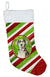 Buy this Catahoula Leopard Dog Christmas Candy Stripe Christmas Stocking CK4100CS