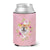 Buy this Chow Chow #2 Pink Flowers Can or Bottle Hugger CK4132CC
