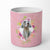 Buy this Weimaraner Pink Flowers 10 oz Decorative Soy Candle CK4191CDL