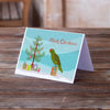 Amazon Parrot Merry Christmas Greeting Cards and Envelopes Pack of 8 - the-store.com