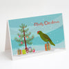 Buy this Amazon Parrot Merry Christmas Greeting Cards and Envelopes Pack of 8