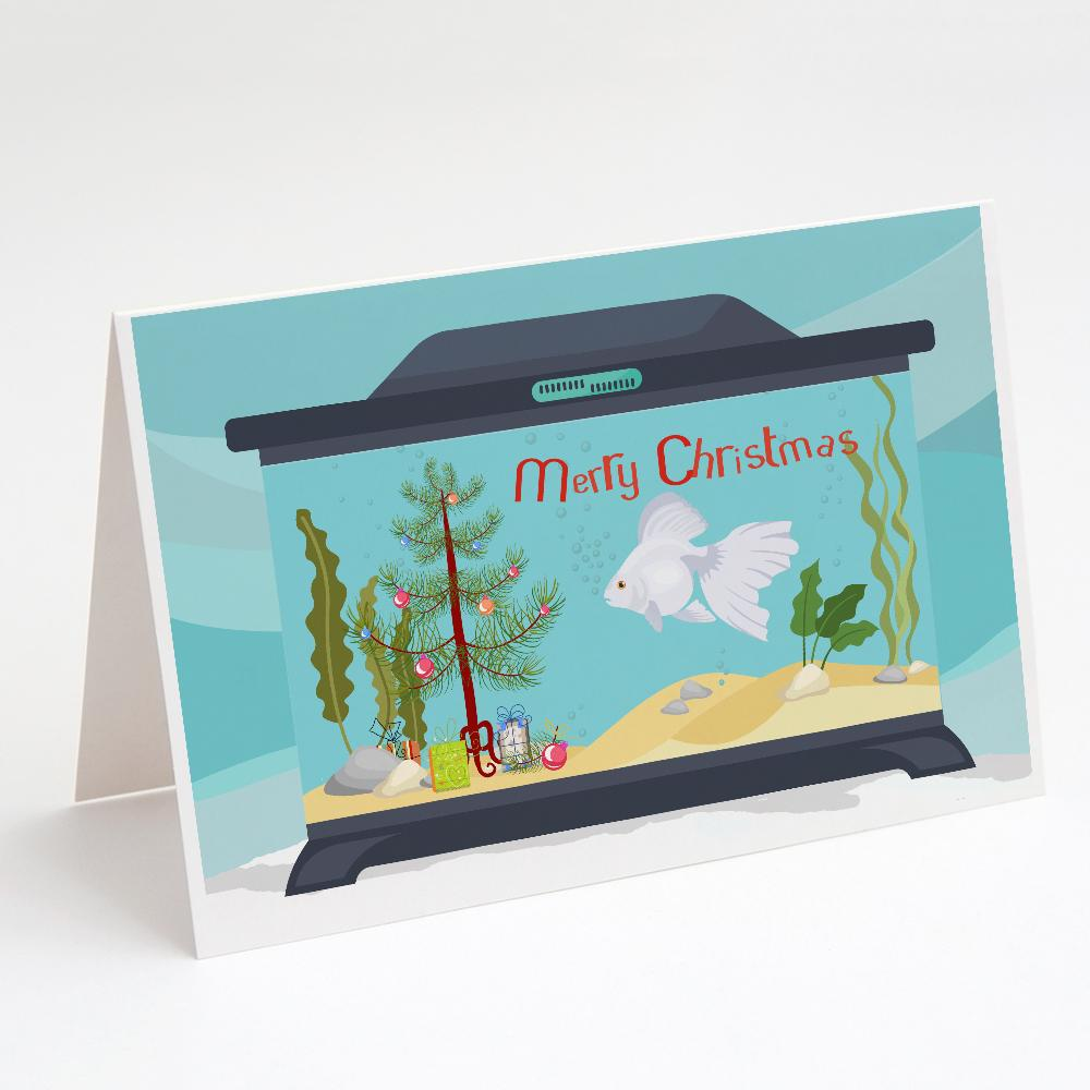 Buy this Ryukin Goldfish Merry Christmas Greeting Cards and Envelopes Pack of 8