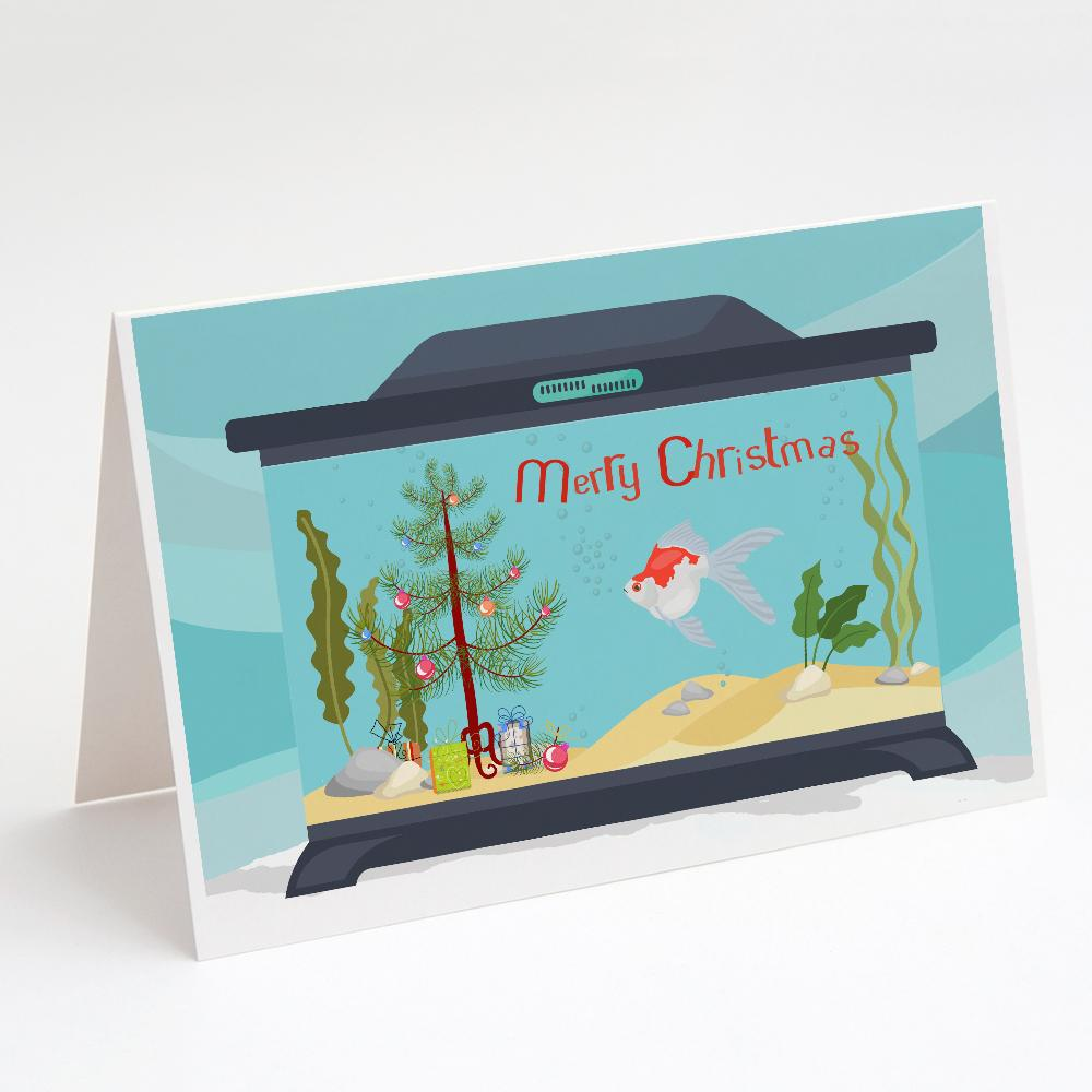 Buy this Tamasaba Goldfish Merry Christmas Greeting Cards and Envelopes Pack of 8