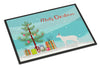 Peterbald #2 Cat Merry Christmas Indoor or Outdoor Mat 18x27 CK4683MAT by Caroline's Treasures