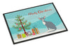 Peterbald Cat Merry Christmas Indoor or Outdoor Mat 18x27 CK4785MAT by Caroline's Treasures