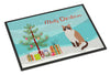 Snowshoe #1 Cat Merry Christmas Indoor or Outdoor Mat 18x27 CK4797MAT by Caroline's Treasures